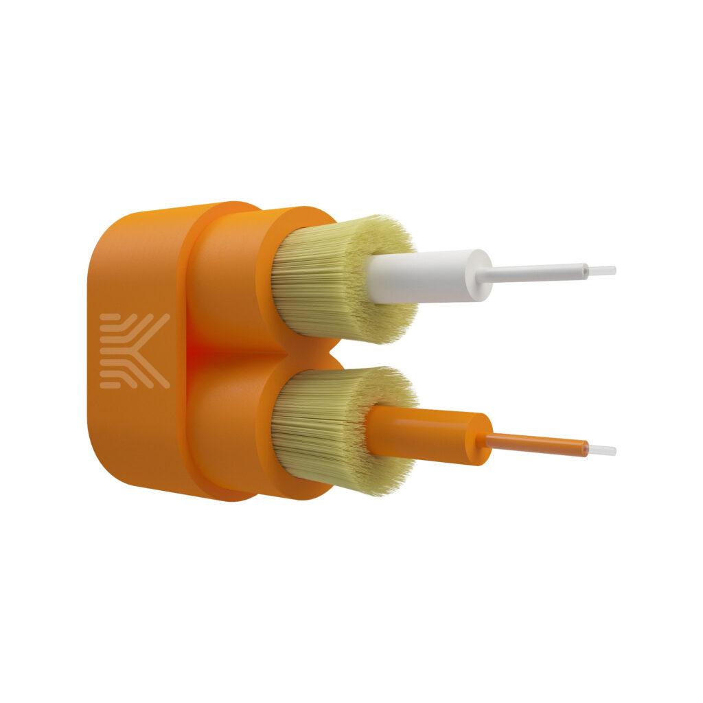 Оптический кабель Breakout 2 волокна ОМ2